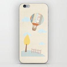 baloon collage iPhone & iPod Skin