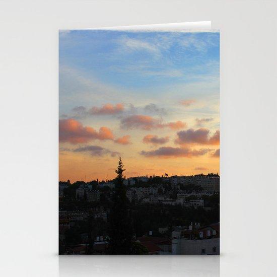 Jerusalem of Light Stationery Cards