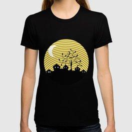 Quiet village at night T-shirt