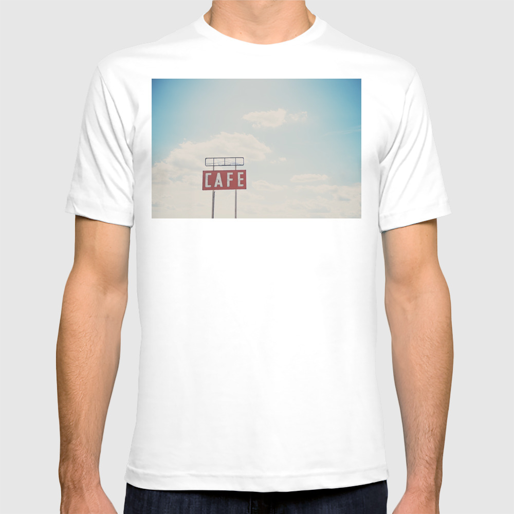 A Cafe Along Route 66 ... T-shirt by Oohprettyshiny TSR7540105