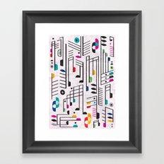 MY SONG Framed Art Print