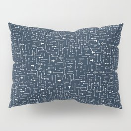 Every Which Way - Navy Pillow Sham