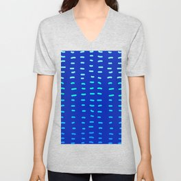 Fiesta at Festival - Royal Blue  Unisex V-Neck