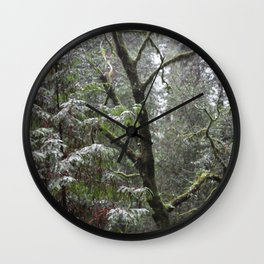 Shinrin-yoku Wall Clock