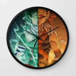 Heros/Rivals Wall Clock