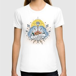 Cleric - Vintage D&D Tattoo T-shirt