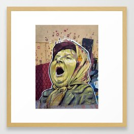 La matriarca Framed Art Print