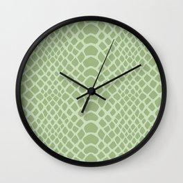 Snake Skin Pattern Wall Clock