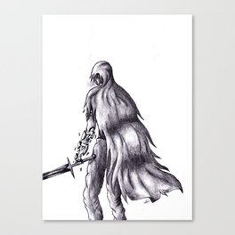 The Warrior Canvas Print