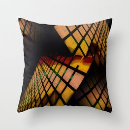 City Abstract View Throw Pillow