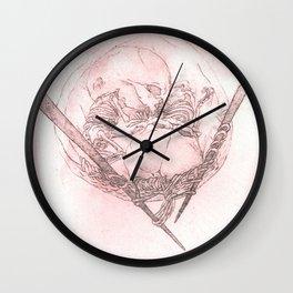 Ties that go Deeper Wall Clock