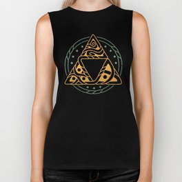 The Golden Power Biker Tank