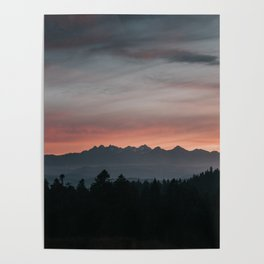 Mountainscape - Landscape and Nature Photography Poster