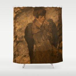 George Hendrik Breitner - Winter Shower Curtain