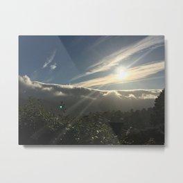 glaze--Pacifica, CA Metal Print