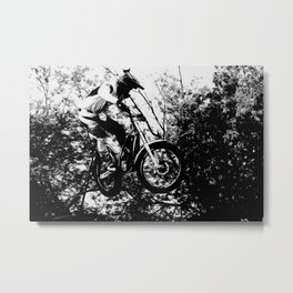 Gas Gas Pro Stunt  Rider - Motorcycle Stunts Metal Print