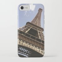eiffel tower iPhone & iPod Cases featuring Eiffel Tower by caroline
