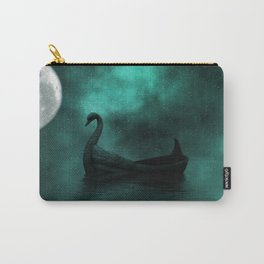 Solar Swan Carry-All Pouch