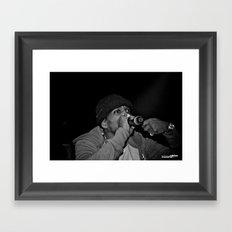 Live from New Jet City: Curren$y pt. 3 Framed Art Print
