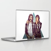 justice league Laptop & iPad Skins featuring Justice by Matt Chinn
