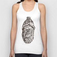 chewbacca Tank Tops featuring Hipster Chewbacca  by LaurenNoakes