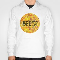 bees Hoodies featuring BEES? by Cat Coquillette