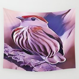 The Striped Manakin Wall Tapestry