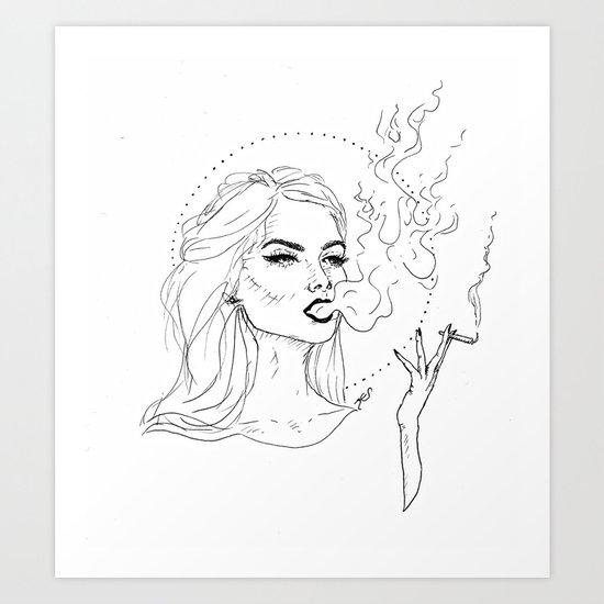 Smoker by kstamperart