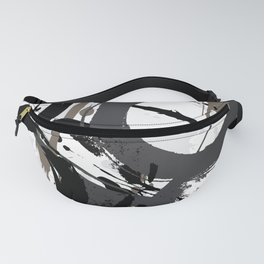 Enso Groove B by Kathy Morton Stanion Fanny Pack