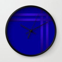 Cobalt blue Wall Clock