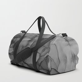 Harmony in Black and White Duffle Bag