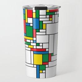 World Map - Modern Travel Mug