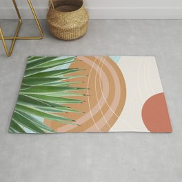 Agave in the Desert Oasis #1 #tropical #wall #art #society6 Rug