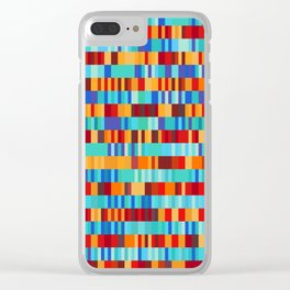 Bach Invention (Fire and Iceberg Colours) Clear iPhone Case