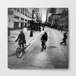 Street Rhythm Metal Print