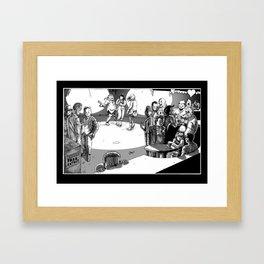 Valentine's Day Massacre Framed Art Print