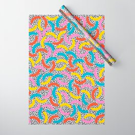 I Love Memphis Patterns Wrapping Paper