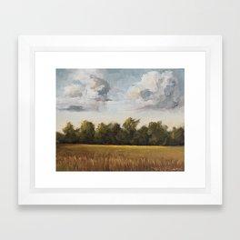 sun-kissed & breezy Framed Art Print
