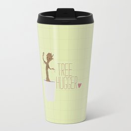 groot.. guardians.. tree hugger.. humor Travel Mug