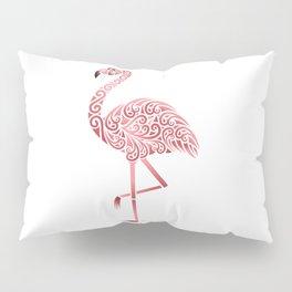 Funky Tribal Flamingo Pillow Sham