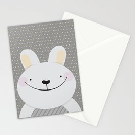 Cute Rabbit Stationery Cards