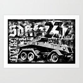 Sd.Kfz. 232 (6-Rad) Art Print