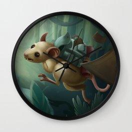 Pack Rat Wall Clock