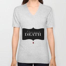 """""""I love you to DEATH"""" Unisex V-Neck"""