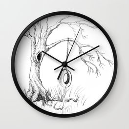 Tire Swing Memories Wall Clock
