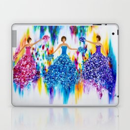 Colourful dance Laptop & iPad Skin