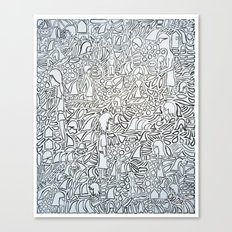 Whack Canvas Print