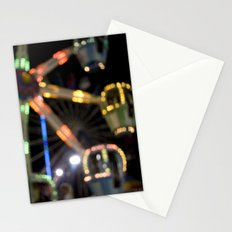 Seaside Boardwalk Lights Stationery Cards