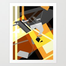 Compression Art Print