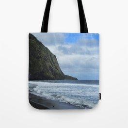 Cliffs Meet The Ocean Tote Bag